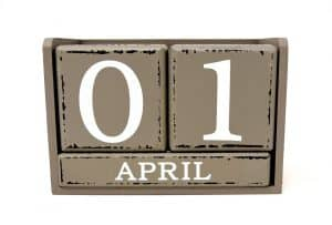 April 1st Fools Day